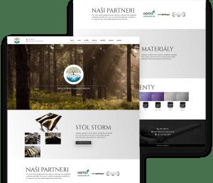 Rainandwood.sk - Tvorba webových stránok - Webofka.sk